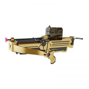 Ավտոմատ + առբալետ մարտկոցով + շարիկ գելով /44cm water-absorption bullet gun&Crossbow set/ LS203-B